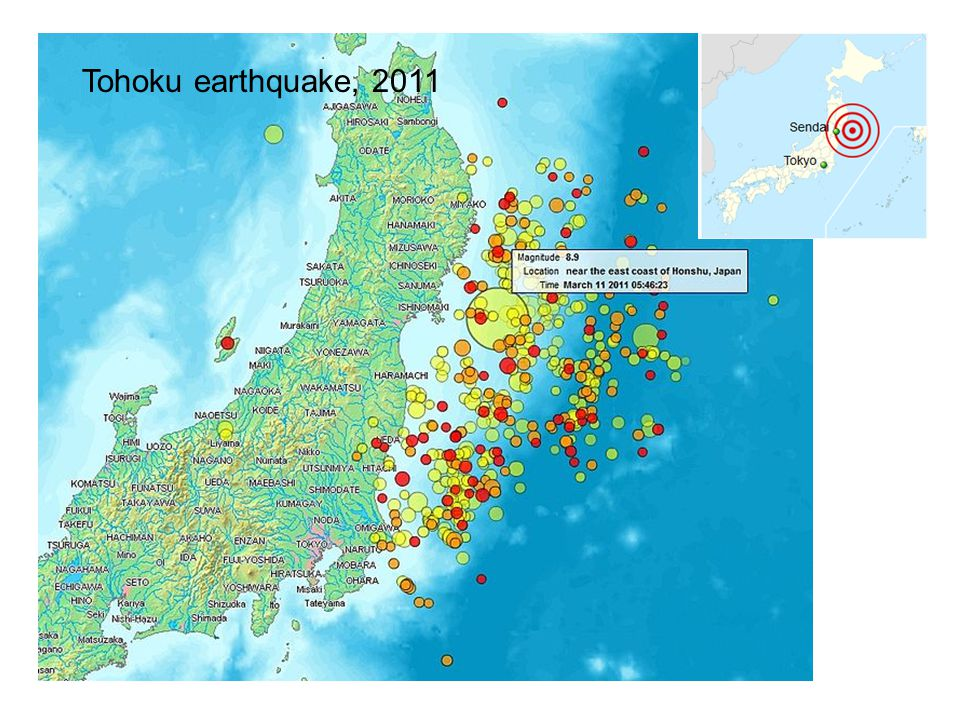 Tohoku earthquake, 2011