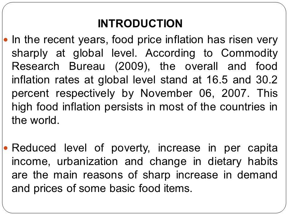 MUHAMMAD ABDULLAH DR. RUKHSANA KALIM DETERMINANTS OF FOOD PRICE INFLATION IN PAKISTAN: AN EMPIRICAL ANALYSIS