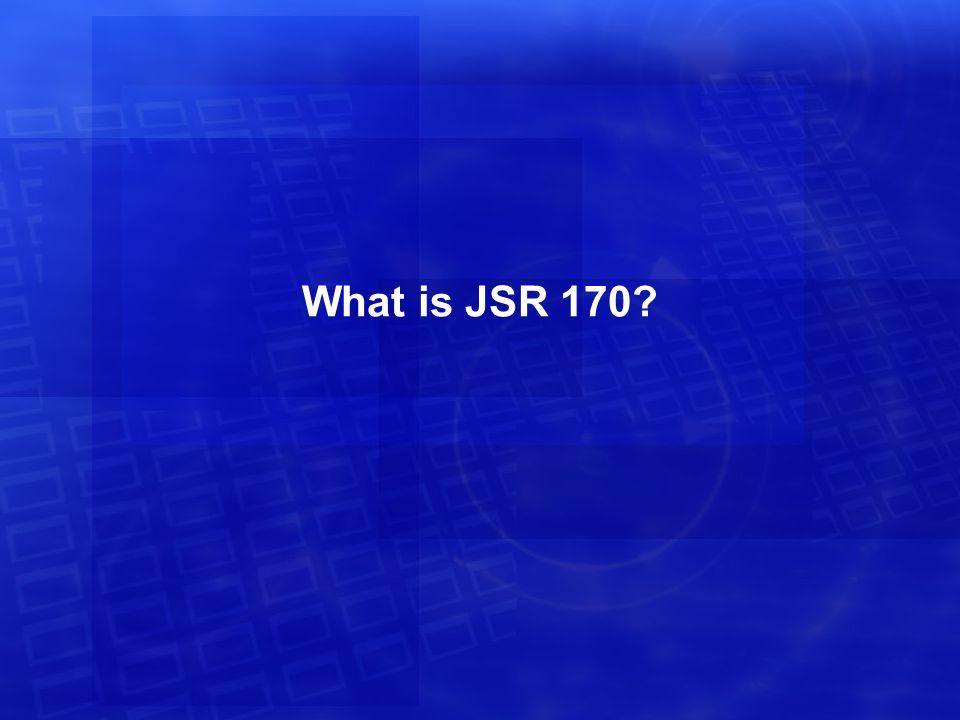 Application A Deployment: Model 1 J2EE Servlet Container JCR