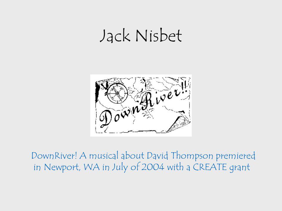 Jack Nisbet DownRiver.