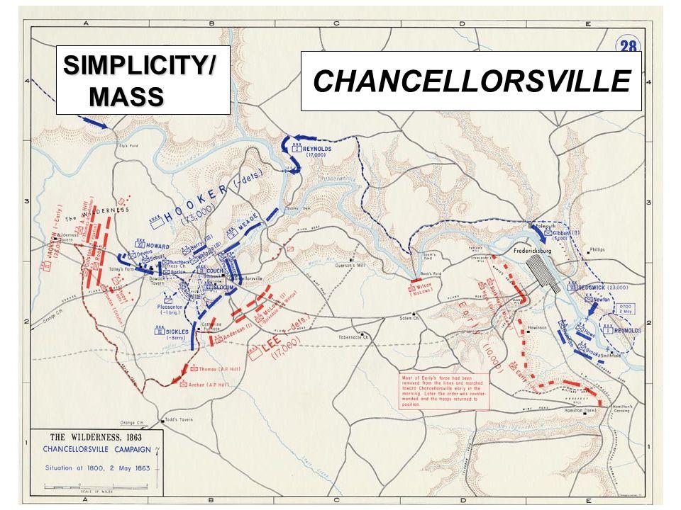 20 CHANCELLORSVILLE SIMPLICITY/ MASS