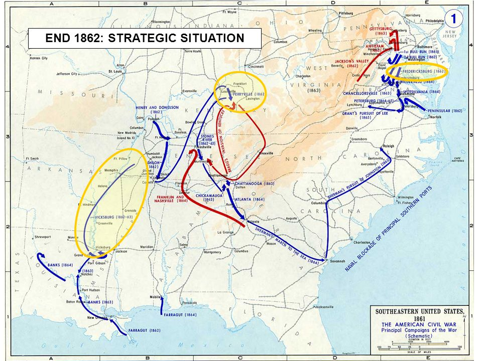 5 END 1862: STRATEGIC SITUATION