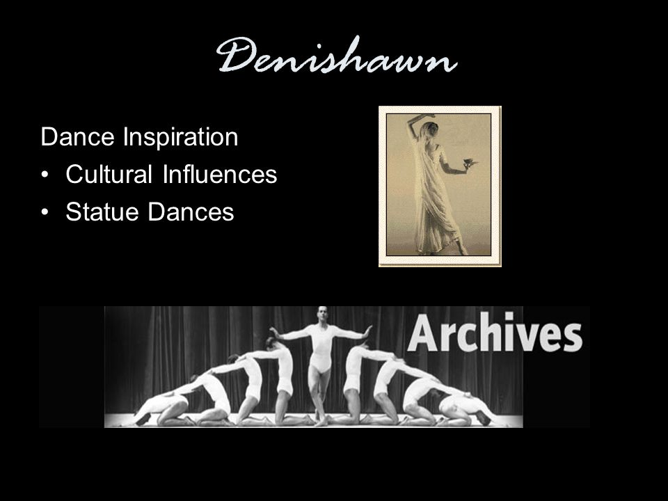 Denishawn Dance Inspiration Cultural Influences Statue Dances