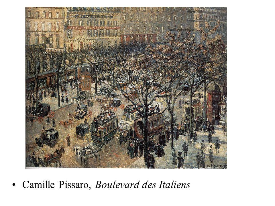 Camille Pissaro, Boulevard des Italiens