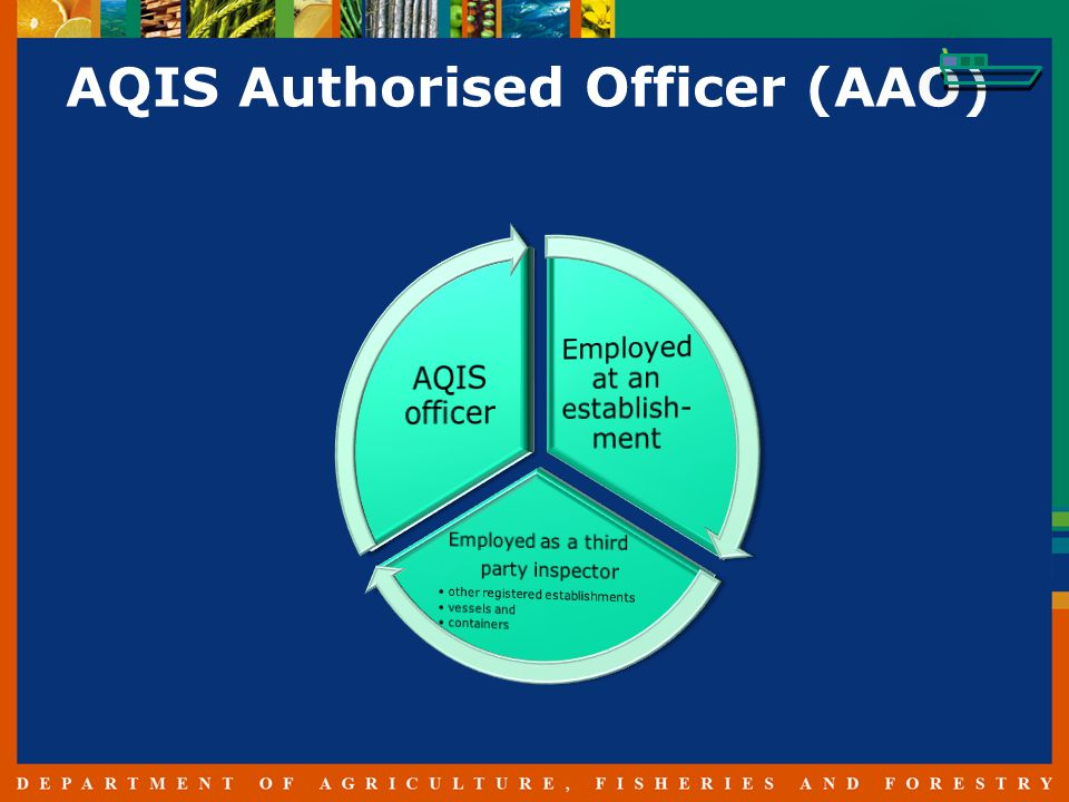 AQIS Authorised Officer (AAO)