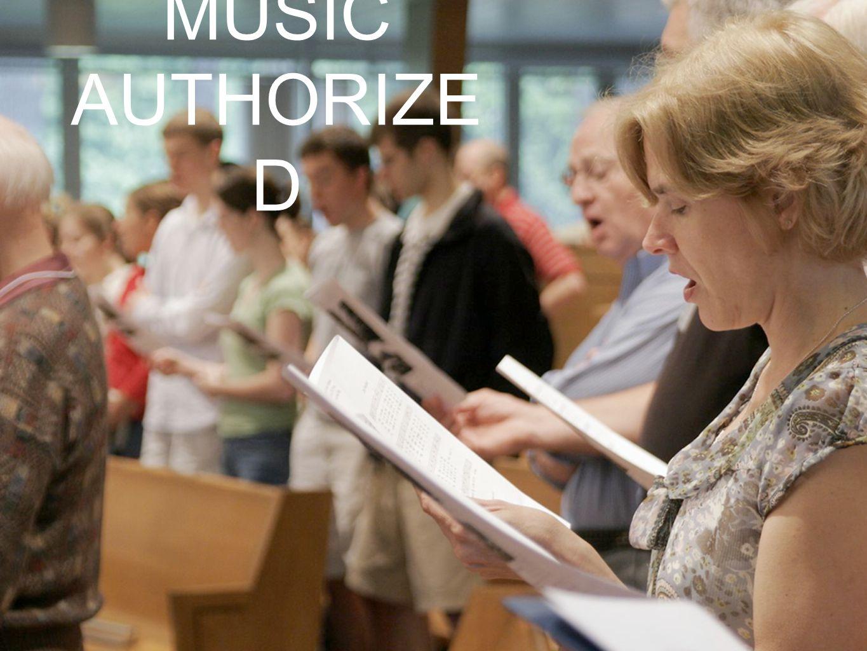 MUSIC AUTHORIZE D
