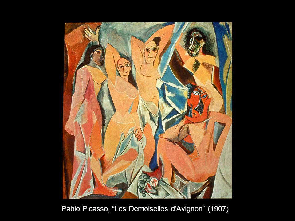 """Pablo Picasso, """"Les Demoiselles d'Avignon"""" (1907)"""