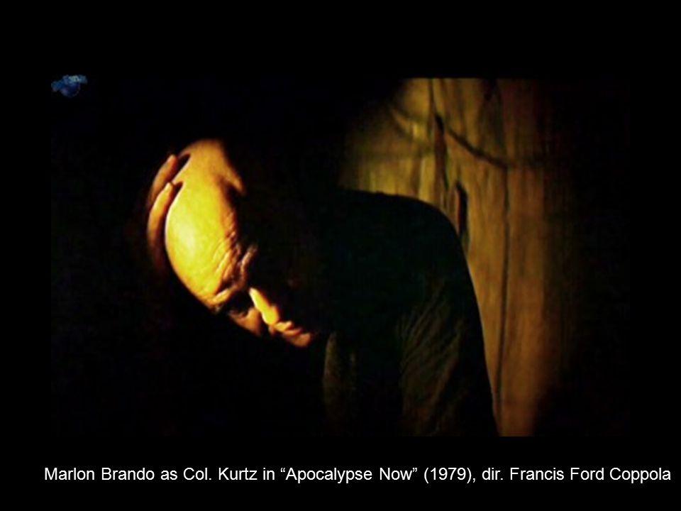 "Marlon Brando as Col. Kurtz in ""Apocalypse Now"" (1979), dir. Francis Ford Coppola"