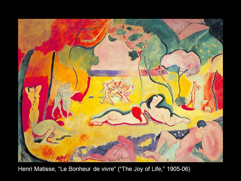 """Henri Matisse, """"Le Bonheur de vivre"""" (""""The Joy of Life,"""" 1905-06)"""