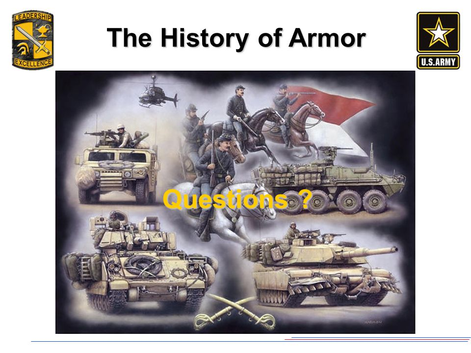 The History of Armor Questions ?
