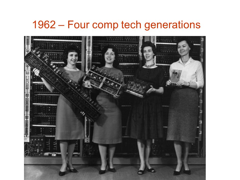 1962 – Four comp tech generations