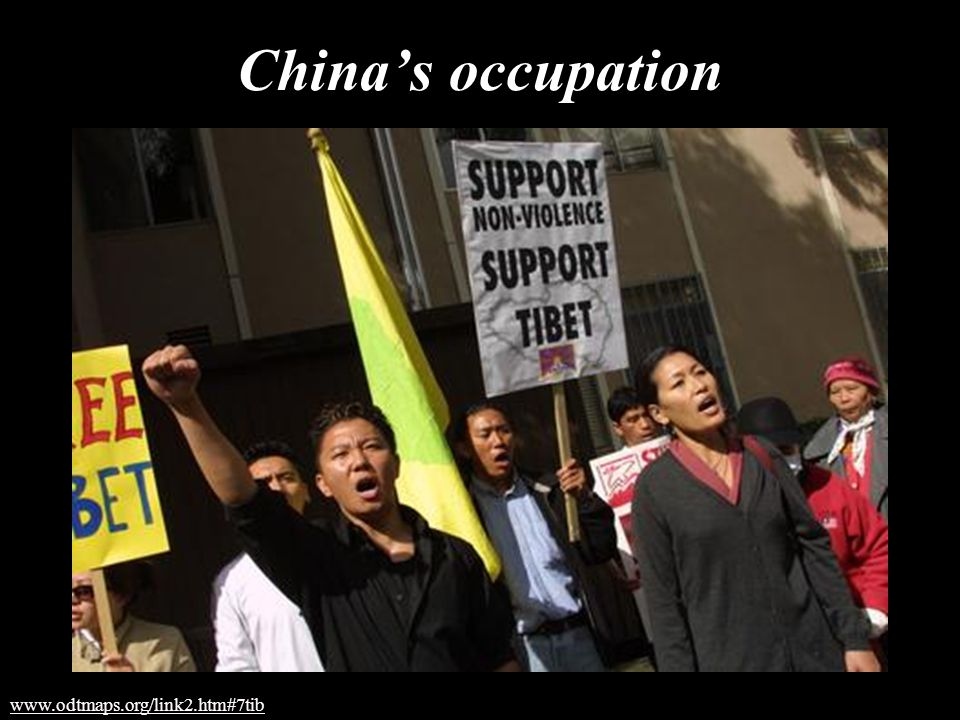 China's occupation www.odtmaps.org/link2.htm#7tib