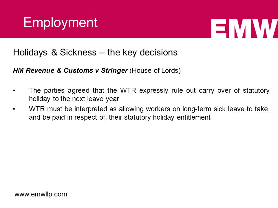 TUPE – some current issues When is a service provision change not a service provision change.