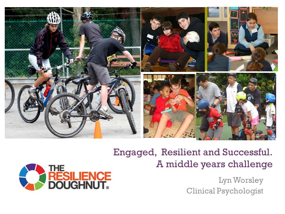 + Engaged, Resilient and Successful. A middle years challenge Lyn Worsley Clinical Psychologist