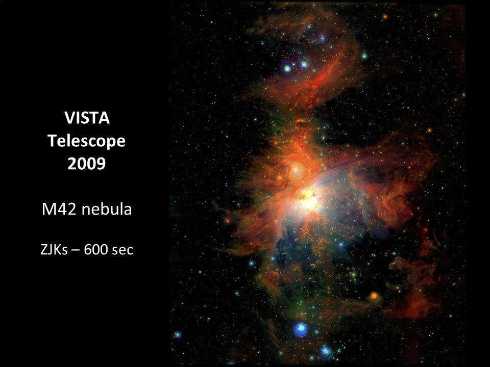 VISTA Telescope 2009 M42 nebula ZJKs – 600 sec