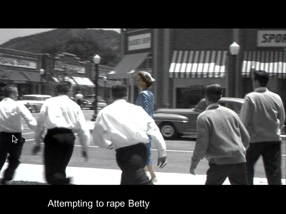 Attempting to rape Betty