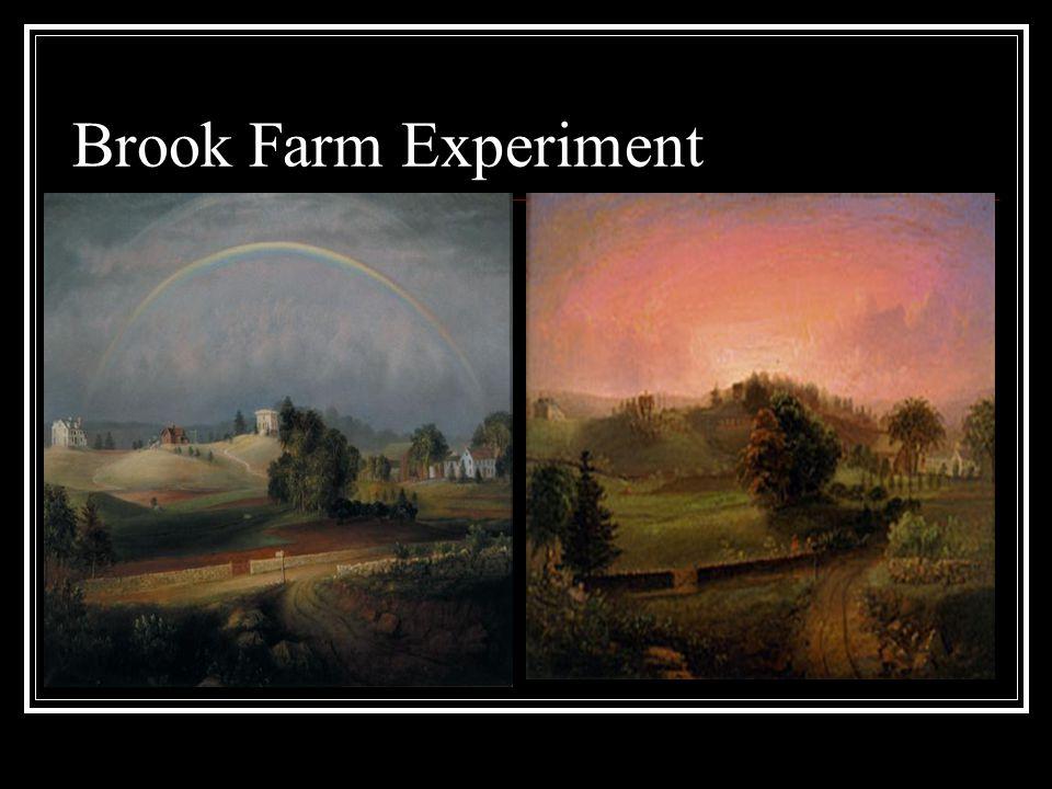 Brook Farm Experiment