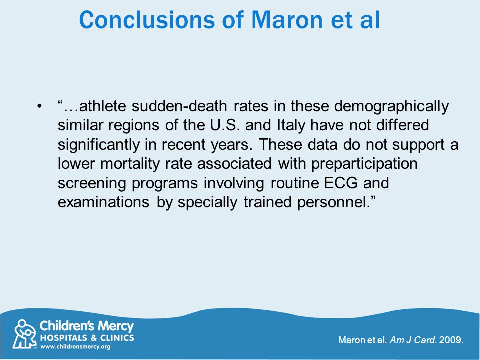 """""""…athlete sudden-death rates in these demographically similar regions of the U.S. and Italy have not differed significantly in recent years. These dat"""