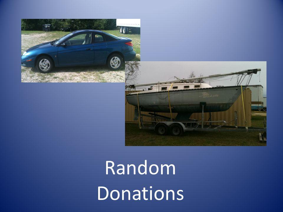 Random Donations