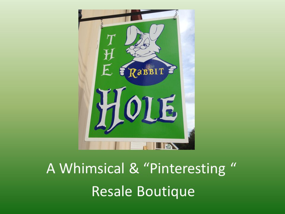 A Whimsical & Pinteresting Resale Boutique