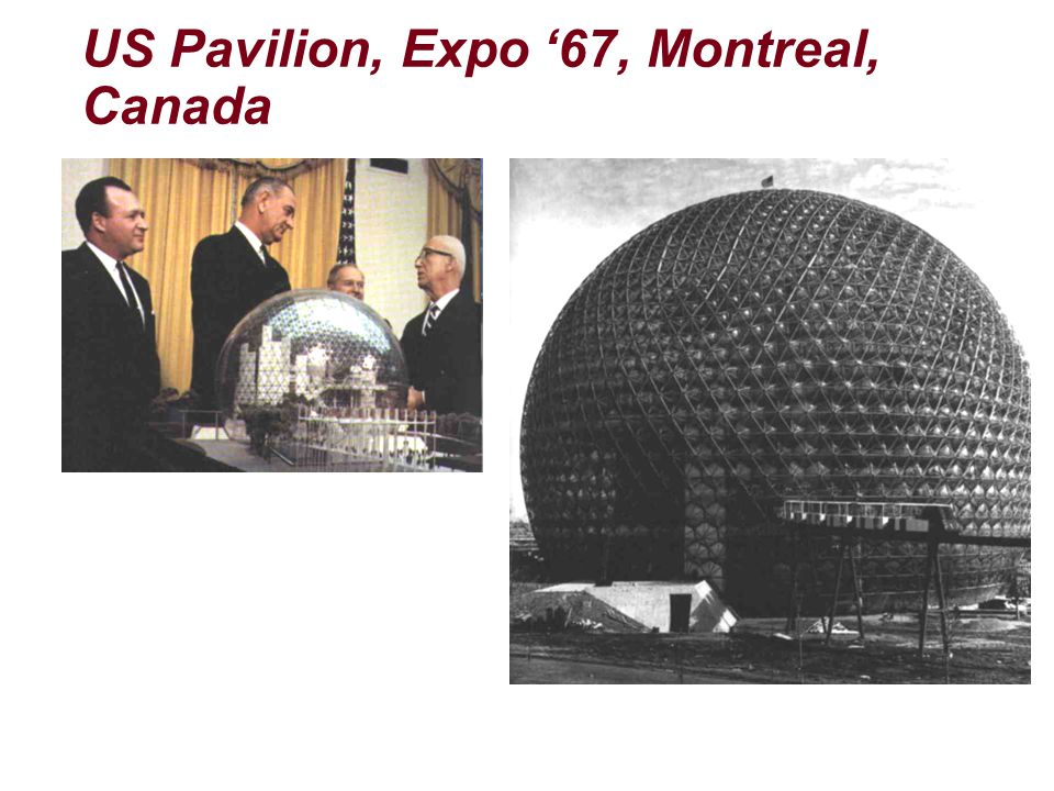 US Pavilion, Expo '67, Montreal, Canada