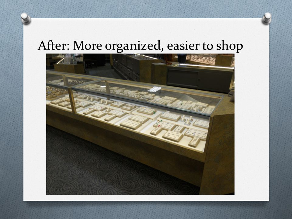 After: More organized, easier to shop
