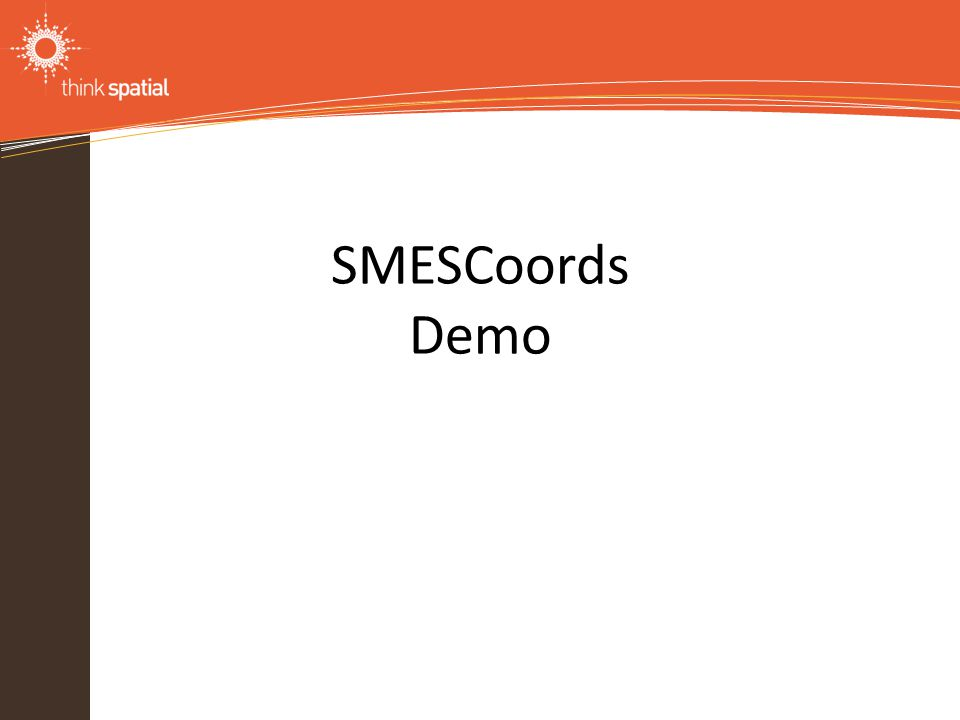 Information Technology Solutions SMESCoords Demo