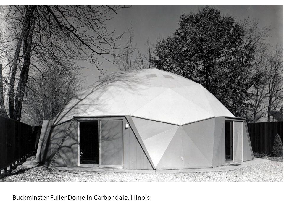 Buckminster Fuller Dome In Carbondale, Illinois