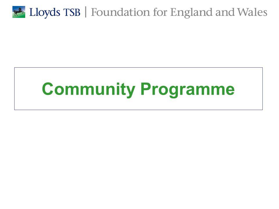 Community Programme