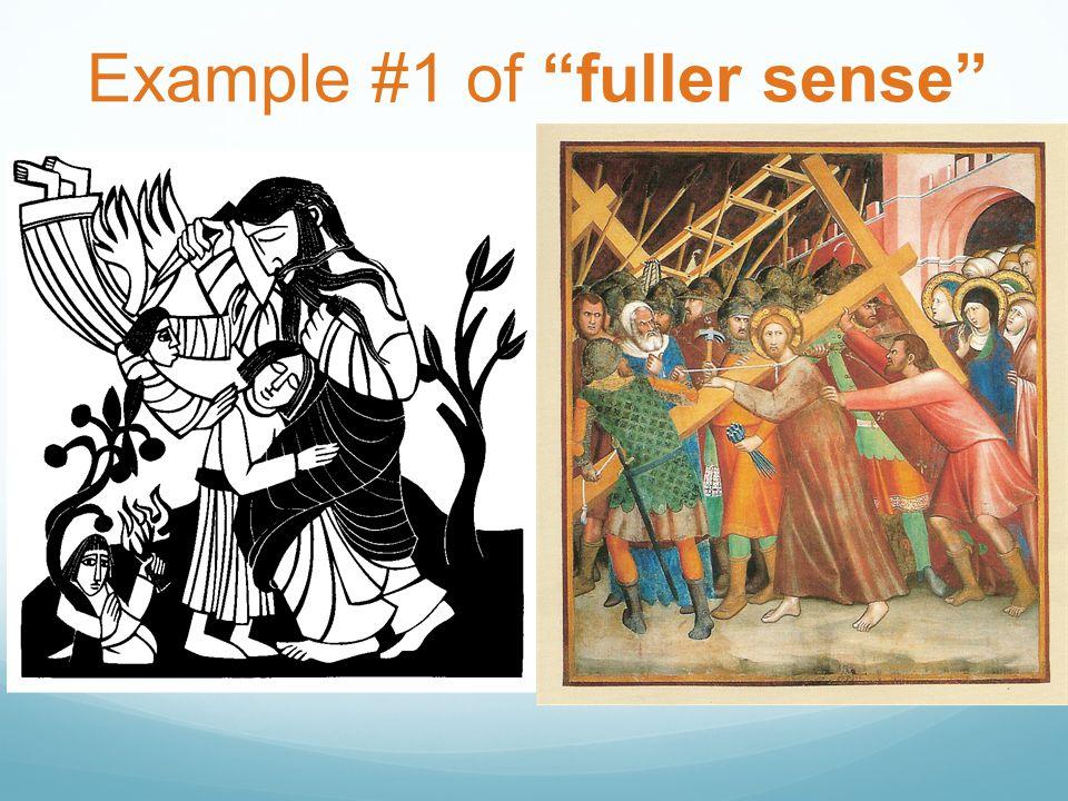 "Example #1 of ""fuller sense"""