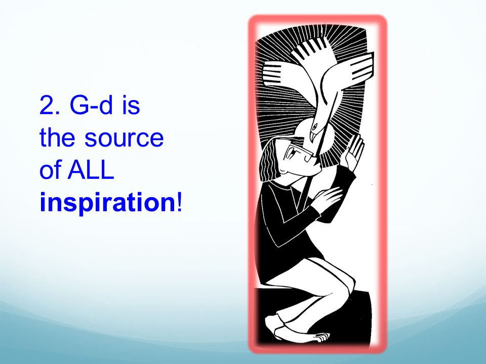 C.G-d is the author of Scripture. (CCC 105) D.