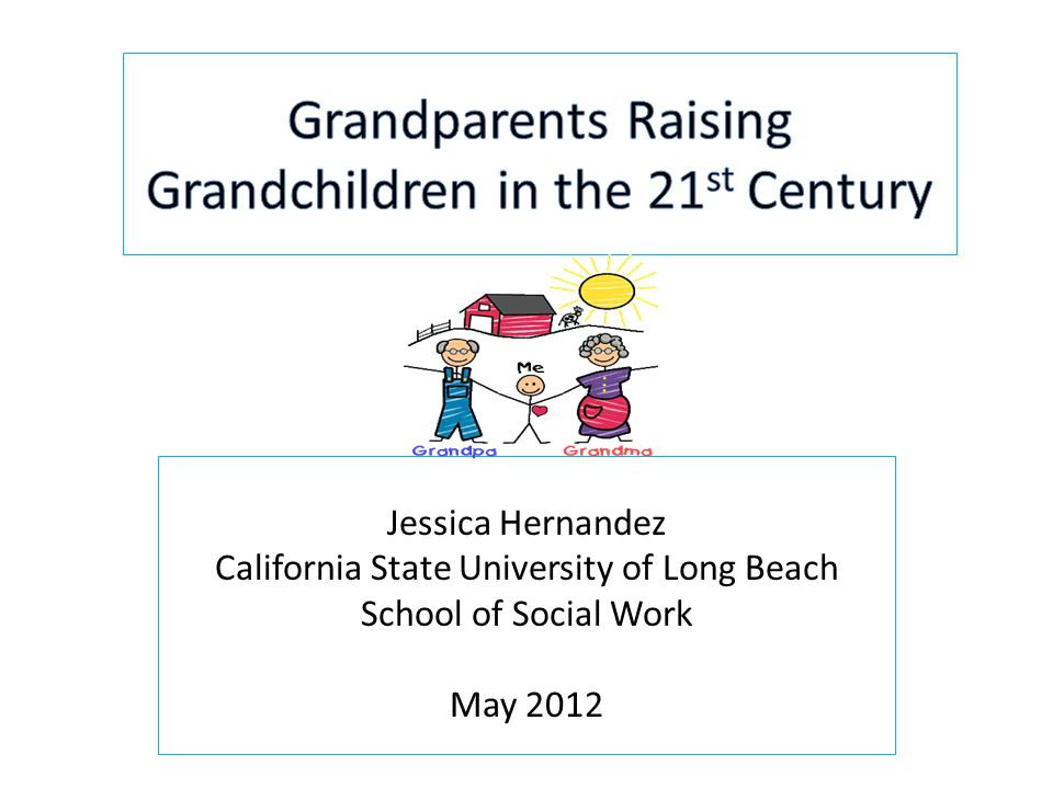 Jessica Hernandez California State University of Long Beach School of Social Work May 2012
