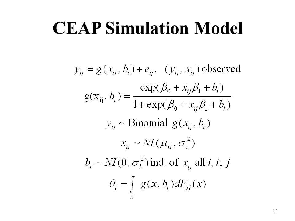 CEAP Simulation Model 12