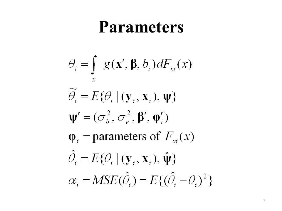 Parameters 7