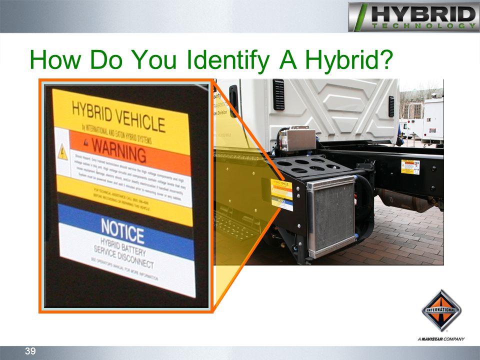 39 How Do You Identify A Hybrid?