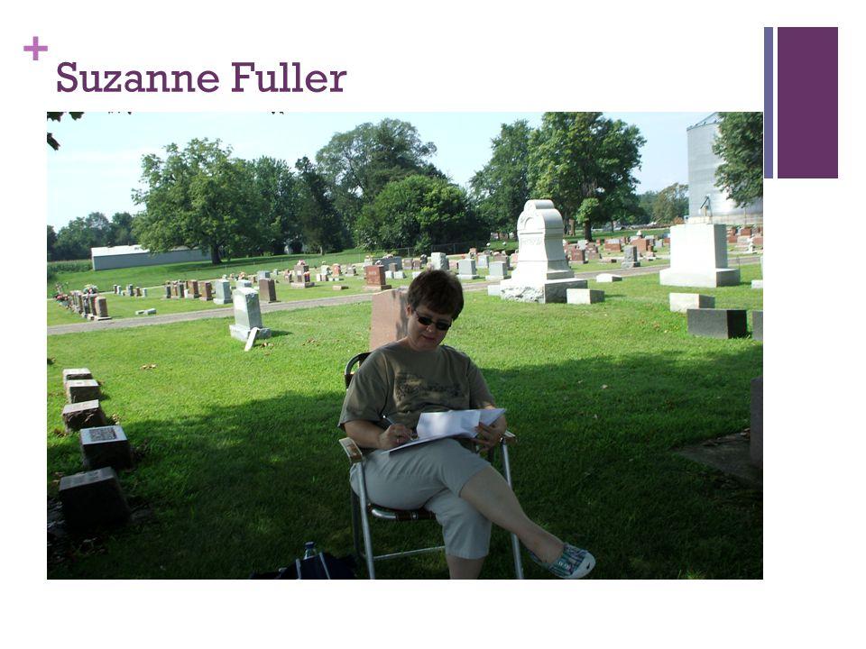+ Suzanne Fuller