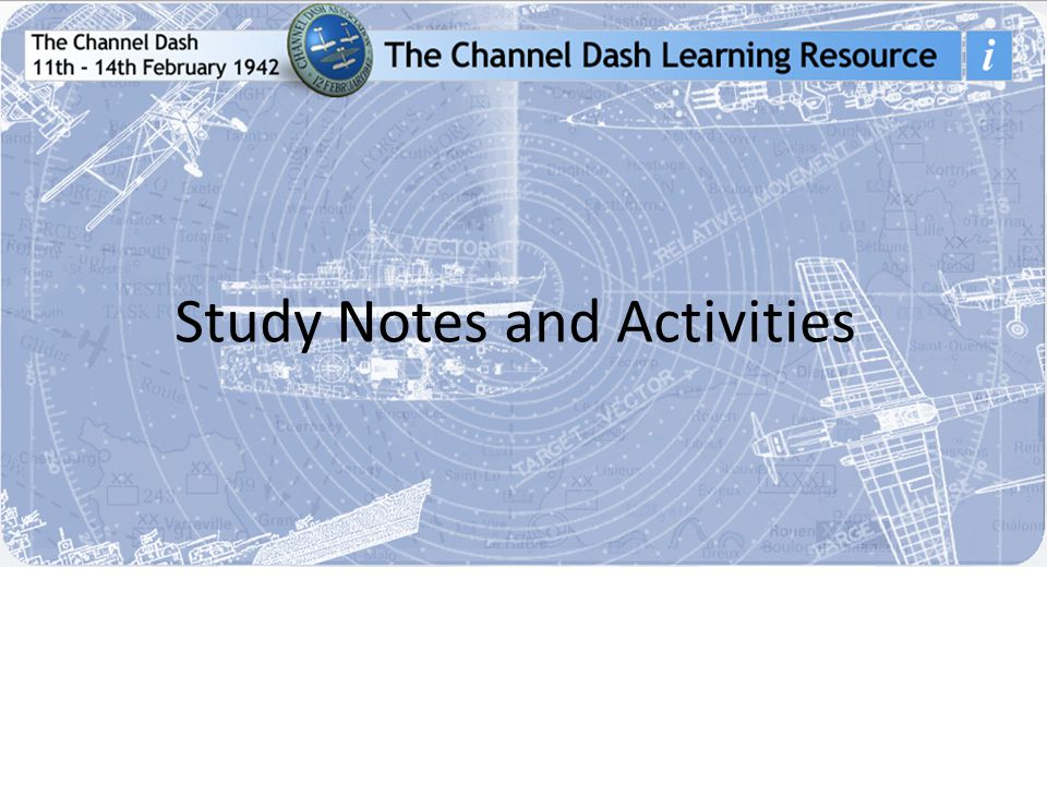 Study Notes and Activities