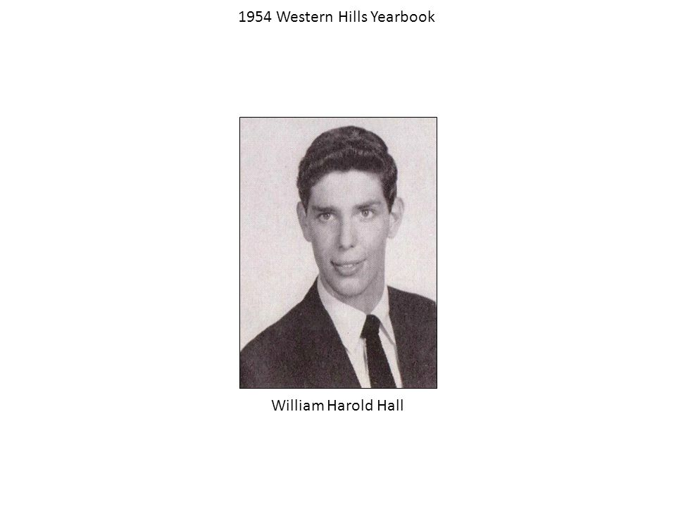 1954 Western Hills Yearbook (Class of 1957) Robert CzerwinskiRalph Bolino