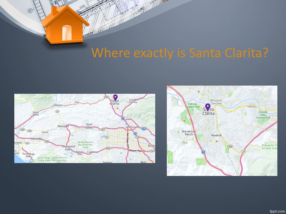 Where exactly is Santa Clarita?