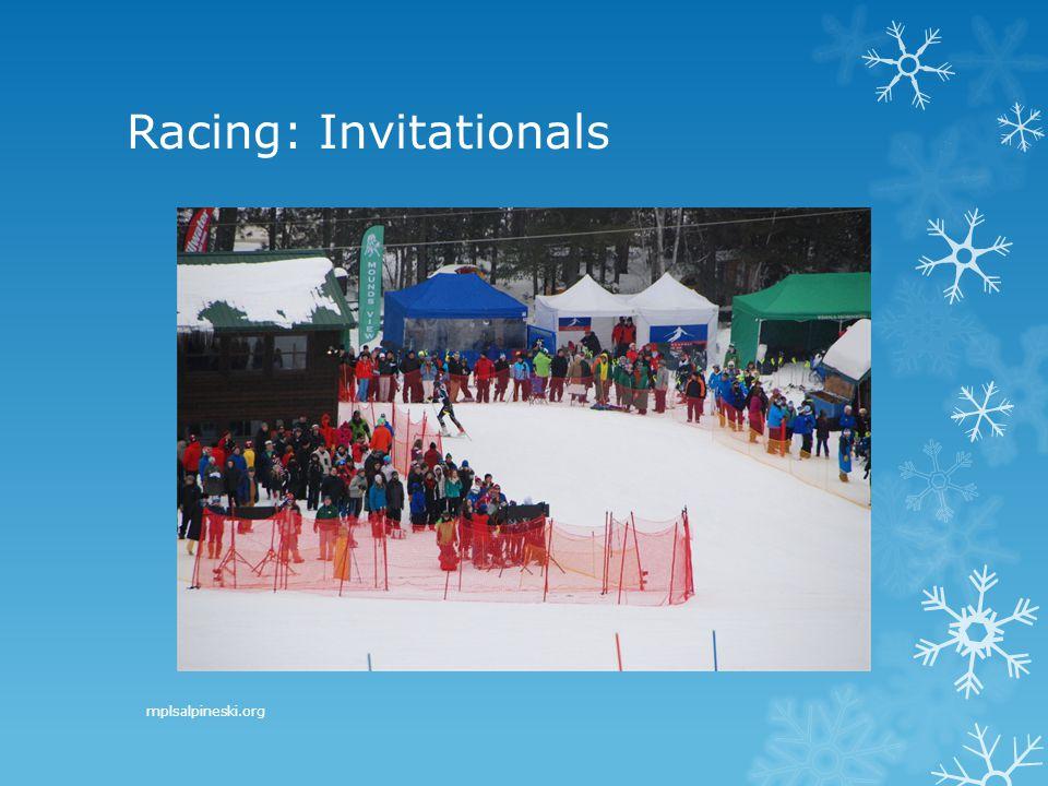 Racing: Invitationals mplsalpineski.org