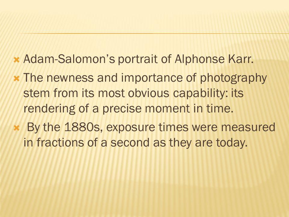  Adam-Salomon's portrait of Alphonse Karr.