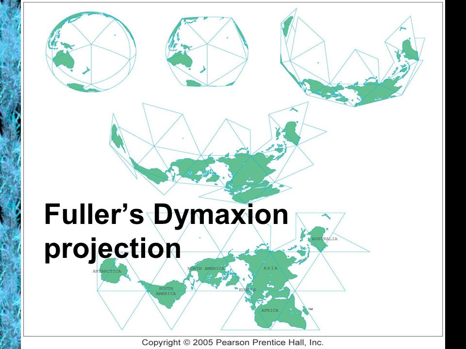 Fuller's Dymaxion projection
