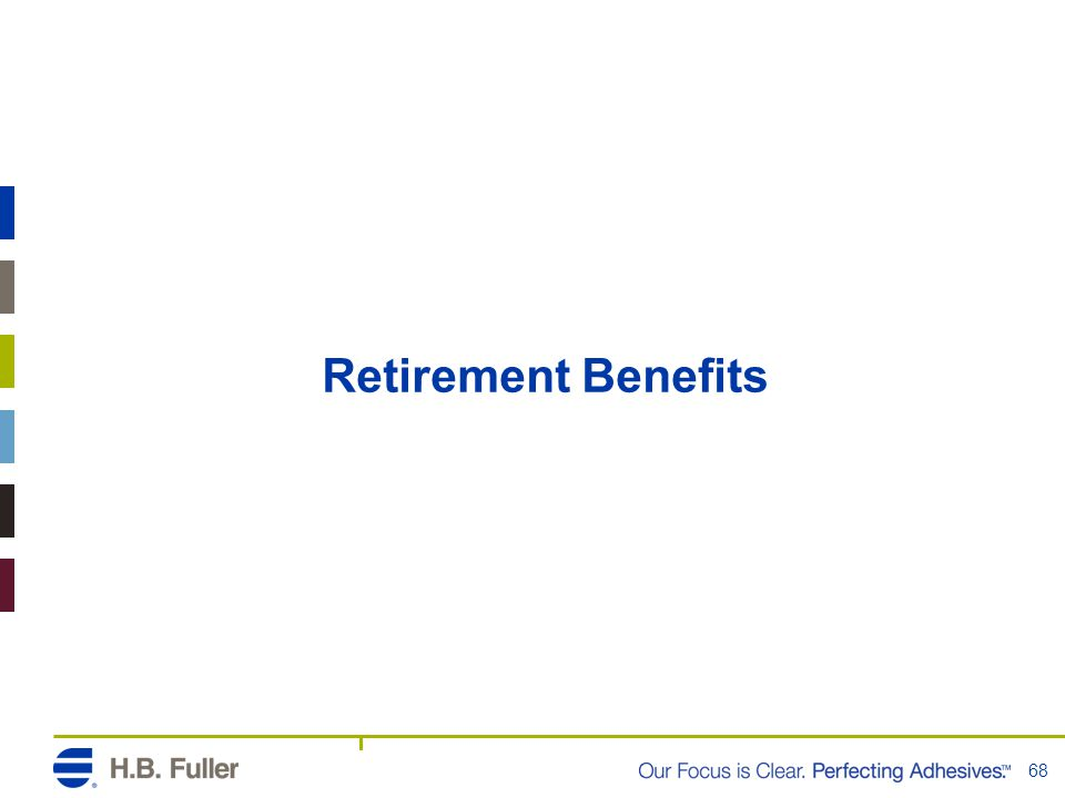 Retirement Benefits 68