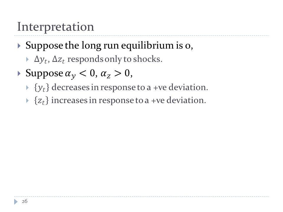 Interpretation 26