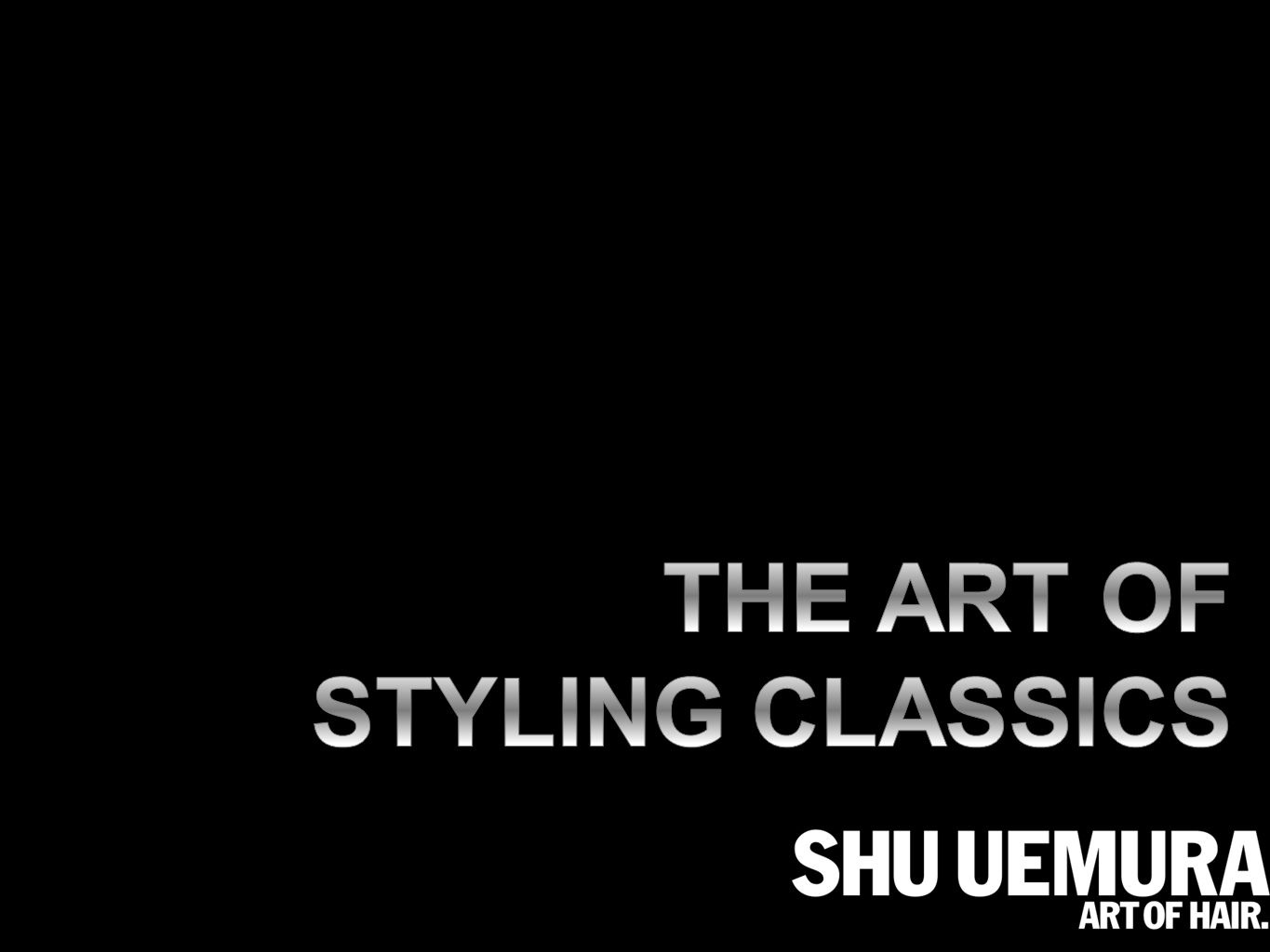 DURING HIS MAKE-UP ARTIST CAREER MR SHU UEMURA HAS BEEN THE EPITOME OF TEXTURE PASSIONATELY AND INSISTENTLY, MR SHU UEMURA CHALLENGED HIMSELF TO EXPLOIT THE INFINITE POSSIBILITES WHEN COMBINING VERSATILE TEXTURES AND VARIED EFFECTS TODAY, THIS EXPLORATION OF TEXTURE IS TAKEN FURTHER, TO OFFER AN INSPIRATIONAL, TREND-LEAD CATALOGUE, ADOPTED BY PROFESSIONNALS AND RENOWNED WORLDWIDE