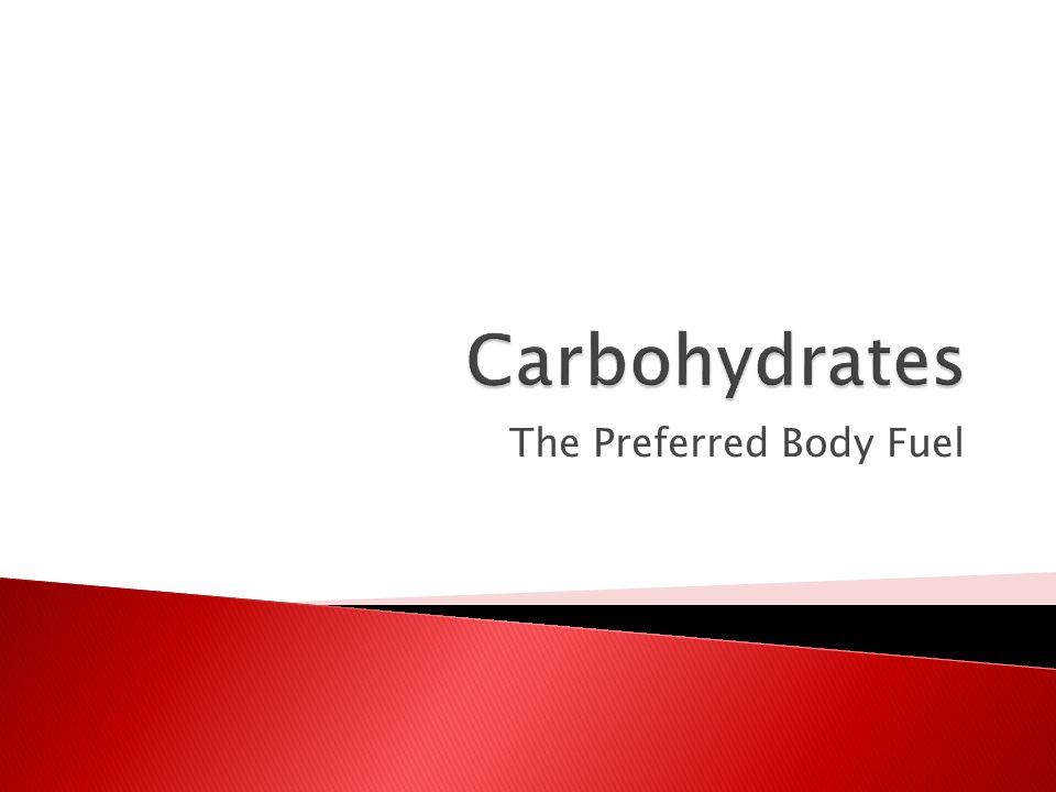 The Preferred Body Fuel
