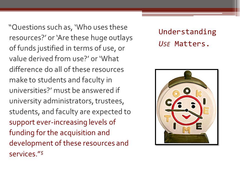 Understanding U SE Matters.