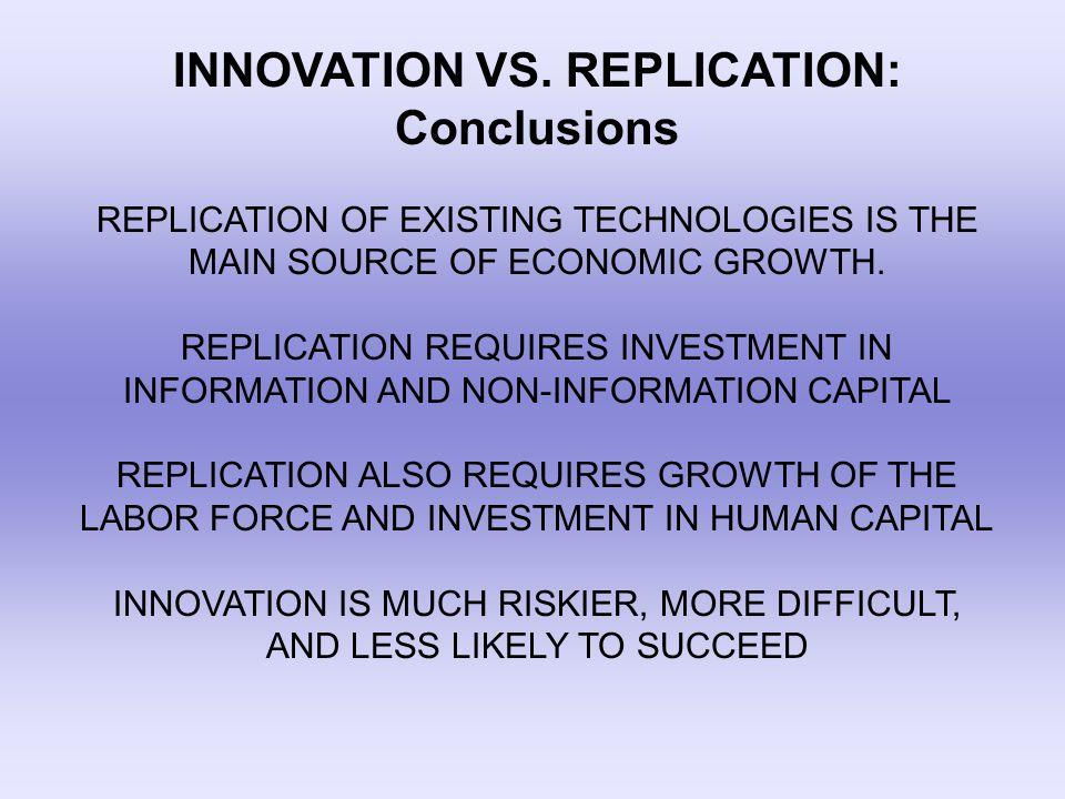 INNOVATION VS.