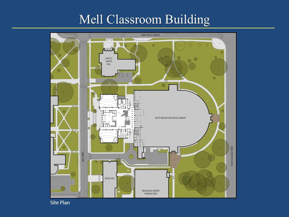 Mell Classroom Building Site Plan