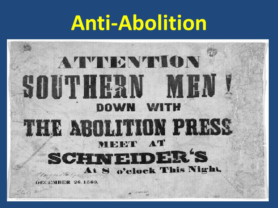 Anti-Abolition